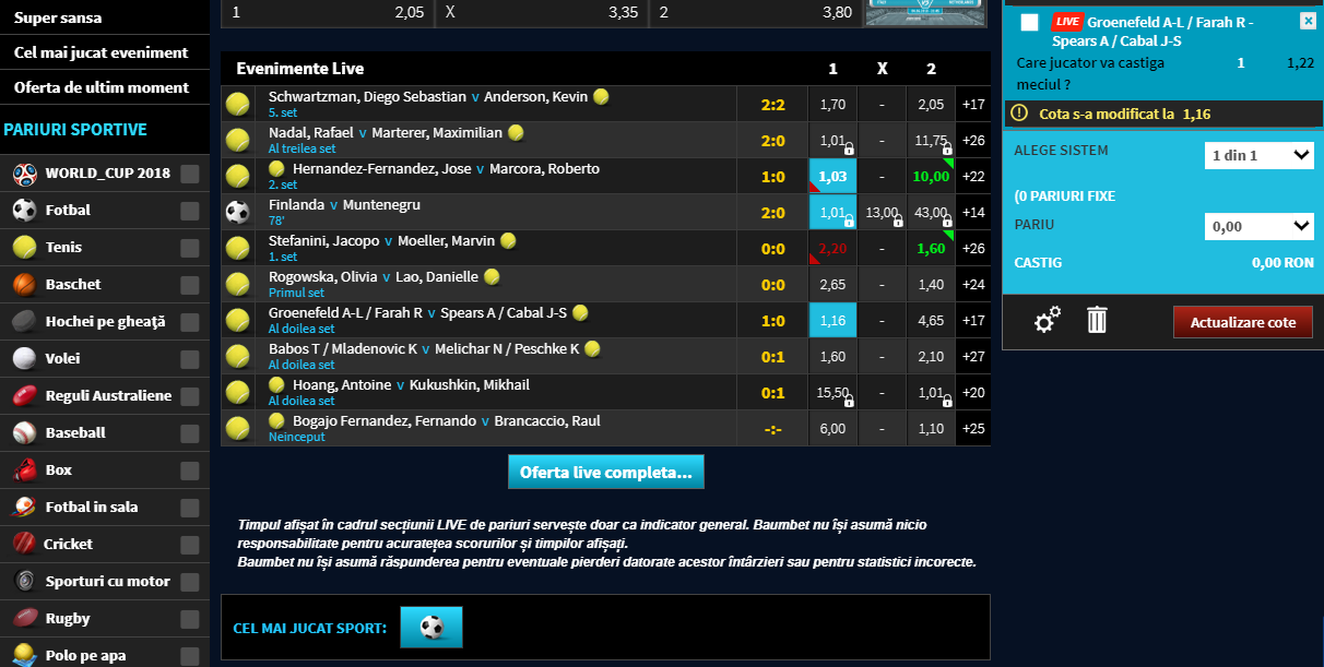 Betting Options – Tip and Cash