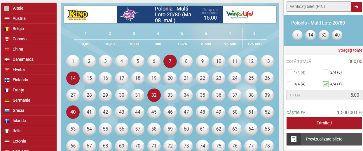 www casa pariurilor ro oferta loto