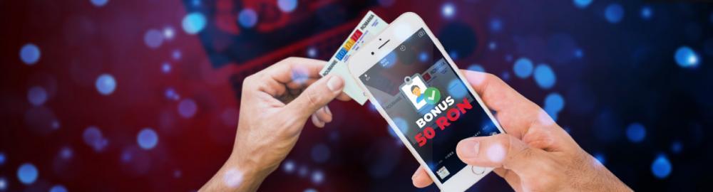 bonus fara depunere joaca pe dispozitiv mobil doar cu cartea de identitate