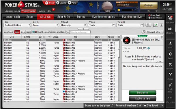 poker online romania cu pokerstars
