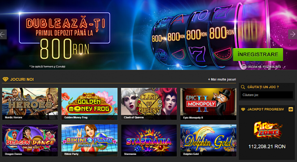 casino online legal romania