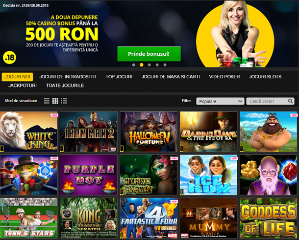casino online bani reali