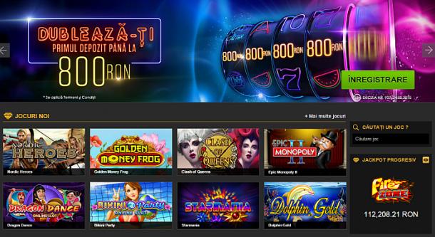 Jocuri slot online pe bani reali