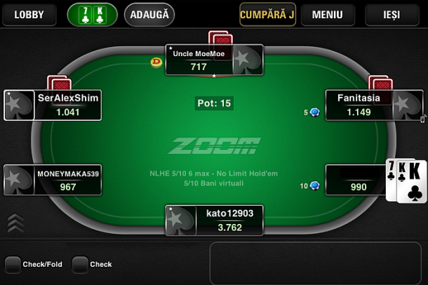 Masa Pokerstars