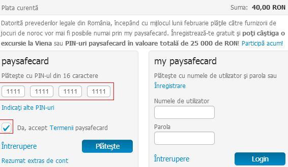 Paysafecard 70 Euro