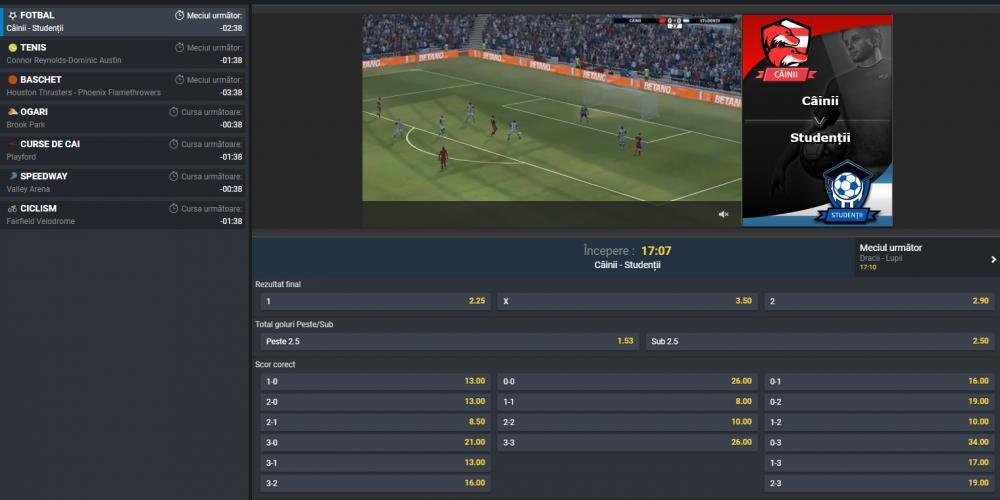 pariuri sportive online la betano