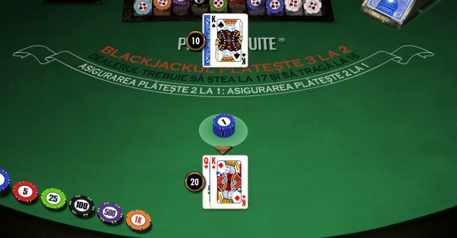cum se joaca blackjack masa de joc casino