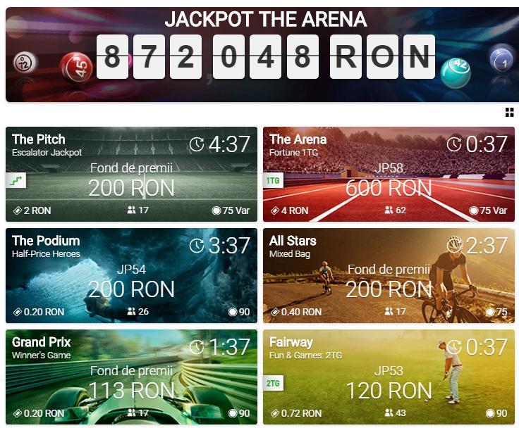 arena bingo online