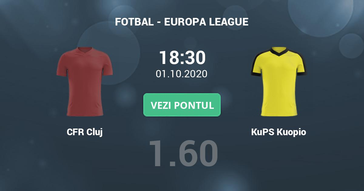 Croatul Ivan Bebek va arbitra meciul CFR Cluj - KuPS ...  |Cfr Cluj-kups