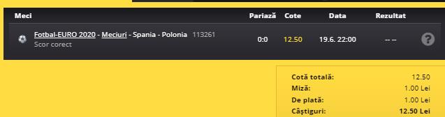 spania-polonia