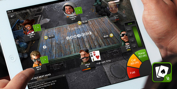Unibet Poker pe iPad