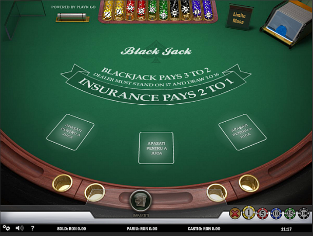 Blackjack Multihand la Unibet Casino