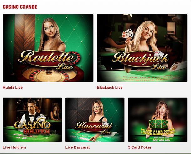 Unibet Casino Grande