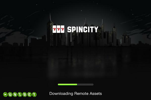 Spincity la Unibet Casino