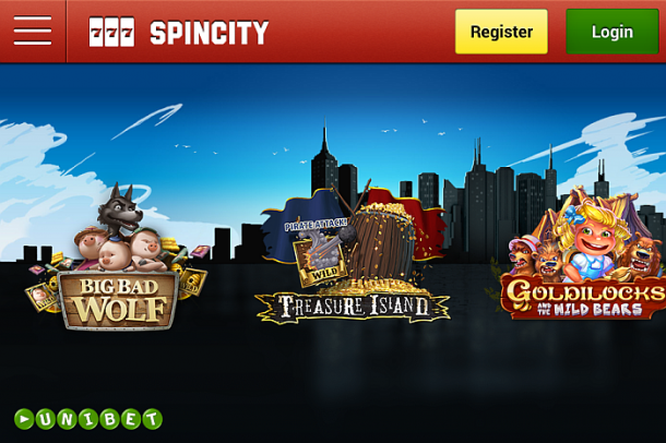 Spin City Unibet Casino