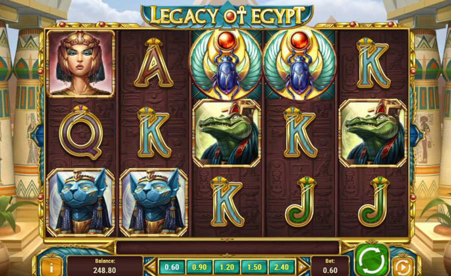 Legacy of Egypt cover