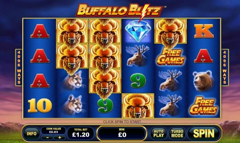 Buffalo Blitz cover