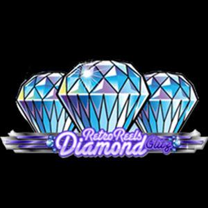 Retro Reels Diamond Glitz logo