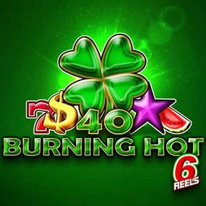40 Burning Hot  logo