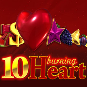 10 Burning Heart logo